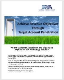 Achieve Revenue Objectives