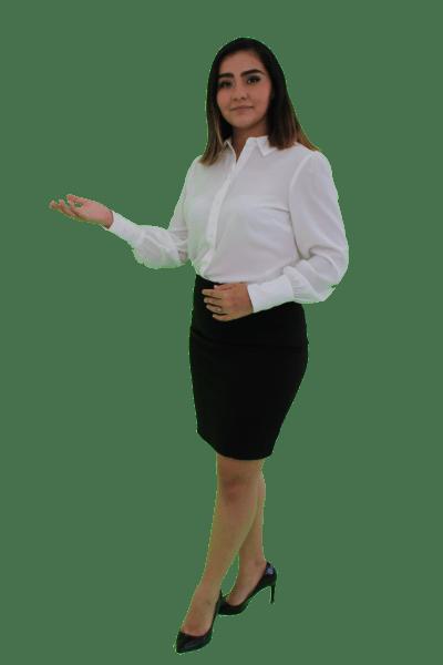 Erika Andrade Pointing
