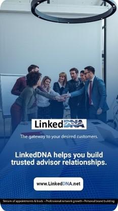 First LinkedDNA Digital Ad