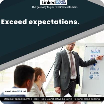 Third LinkedDNA Ad