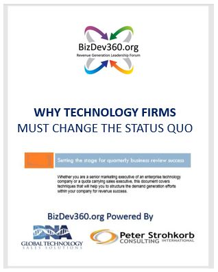 Why Technology Firms Must Change the Status Quo