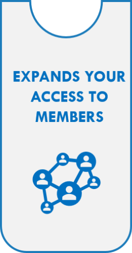 Expands Your Access To Members