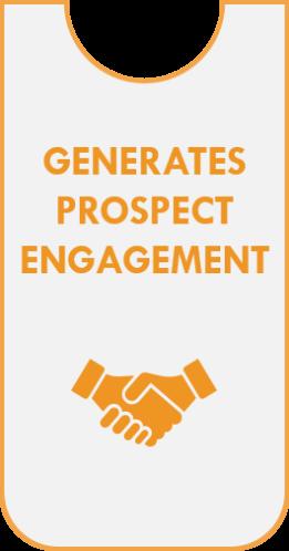 Generates Prospect Engagement