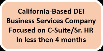 California DEI Button